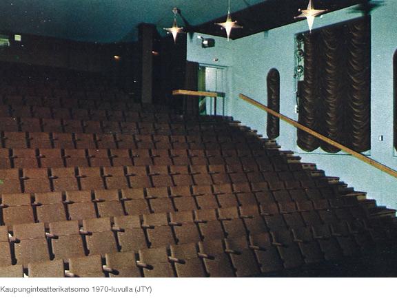 Kaupunginteatterin katsomo 1970-luvulla