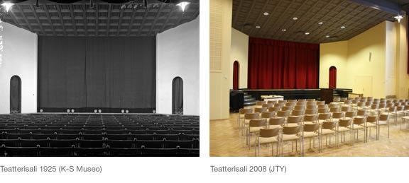 Teatterisali/Sali nyt